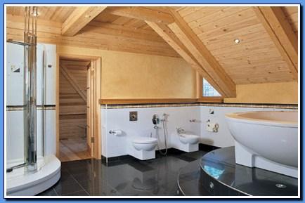 как сделать ванную комнату в частном доме