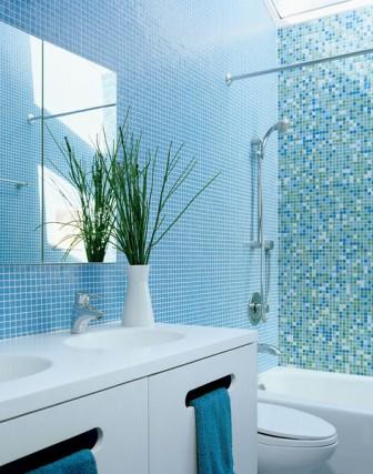 Средиземноморские мотивы в ванной