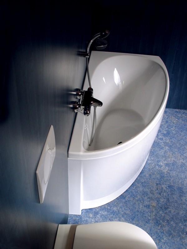 Маленькие ванны угловые