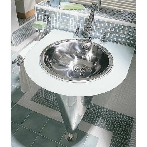 Мойки для ванной комнаты из нержавейки подойдут для поклонников стиля модерн