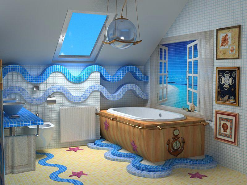 Образцовая морская ванная