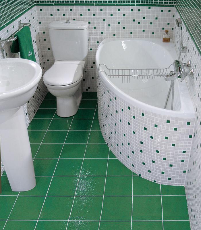 Образцы ванных комнат