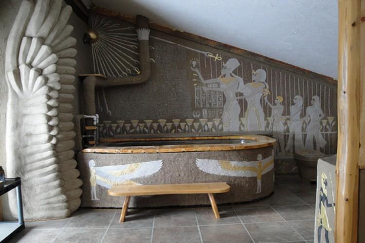 Образец египетской ванной