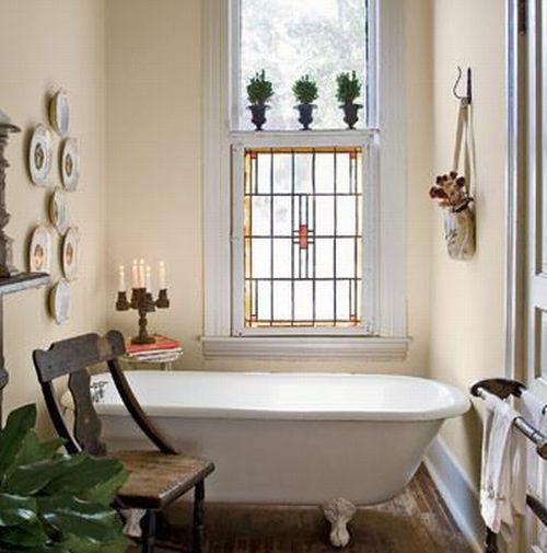 Образец стиля прованс в ванной