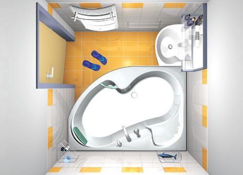 Планировка малогабаритной ванной комнаты – точный расчет каждого сантиметра