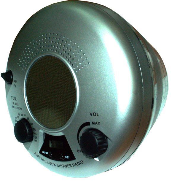 Плавающее радио с подсветкой для ванной
