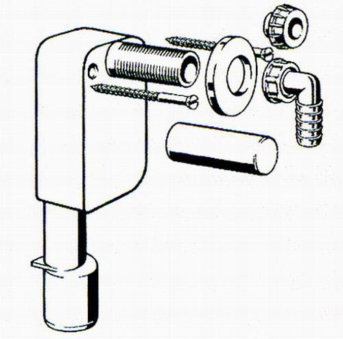 cхема сифона для стиральной и посудомоечной машины