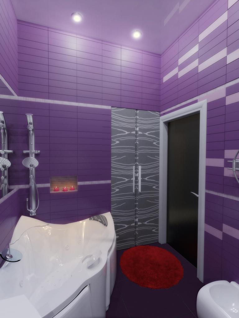 Современность и стиль в фиолетовых тонах