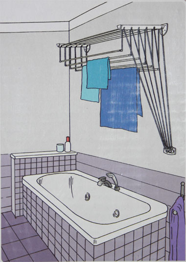 сушилка в ванную