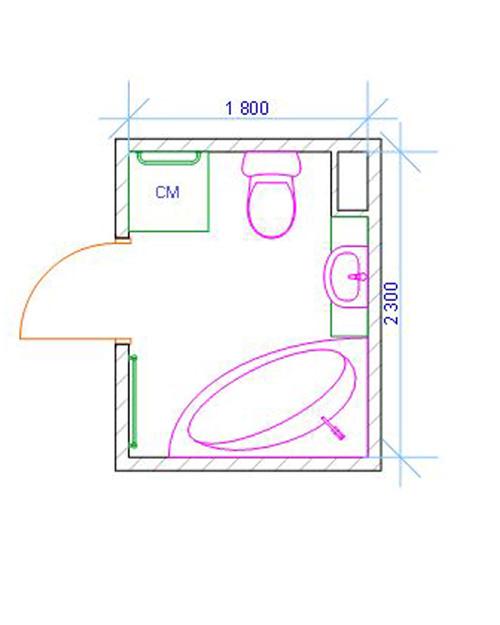 Угловые ванны размеры