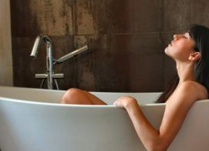 В ванной вы расслабляемся и отдыхаем