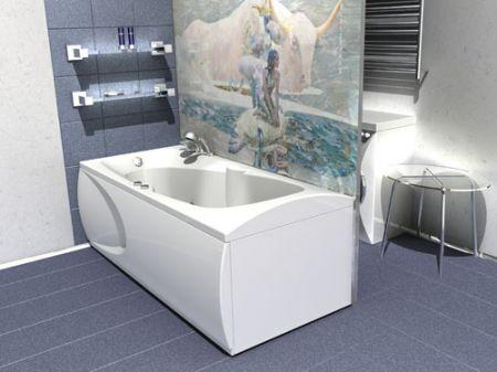 Прямоугольная акриловая ванна Европа от Акватек