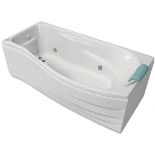 ванна чугунная асимметричная