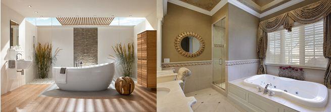 Овальная ванна – символ богатства и процветания
