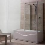 ванна с душевым уголком