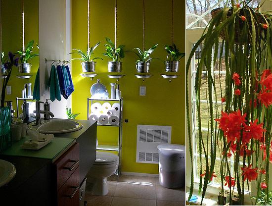 Тропический лес в ванной