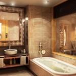 Интерьер ванной комнаты и туалета (45 фото): как сделать красивый дизайн в типовой узкой брежневке, идеи оформления