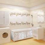ванная комната после оклейки пленкой