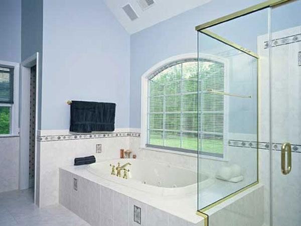 ванная в доме частном