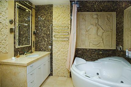 Египетский стиль – эффектная ванная