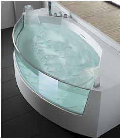 ванны акриловые со стеклом