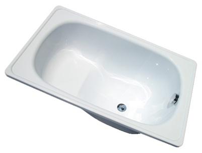 Ванны чугунные нестандартные сидячего типа отлично подходят для ванных небольшой площади
