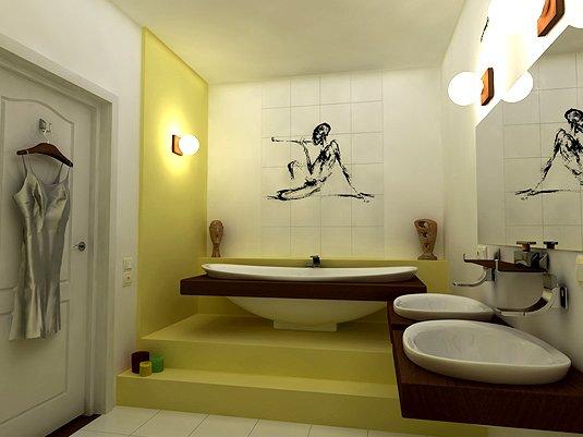 Ванна, встроенная в пол