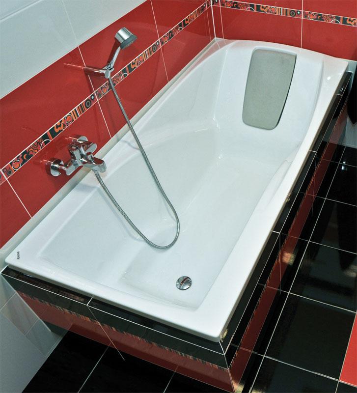Красота и удобство акриловой ванны
