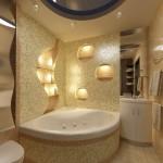 ванные угловые размеры
