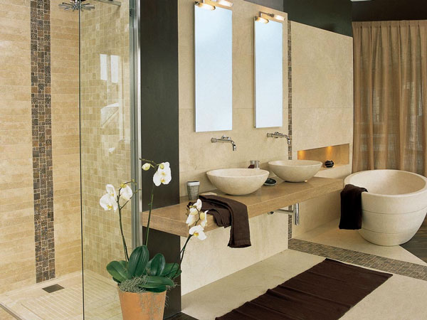 Варианты ремонта ванной комнаты