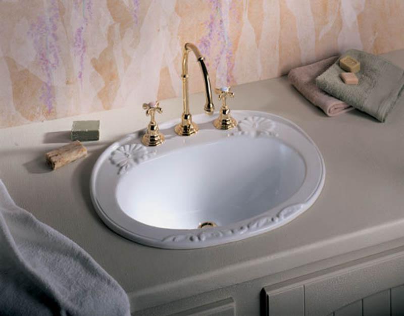 виды раковин для ванной