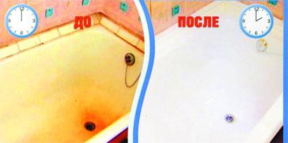 вкладка акриловая в ванну