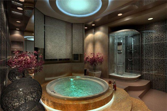 Пример большой ванны