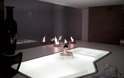 Пример нестандартной ванны