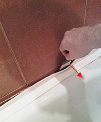бордюр пластиковый для ванной