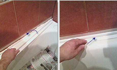 бордюры пластиковые для ванной