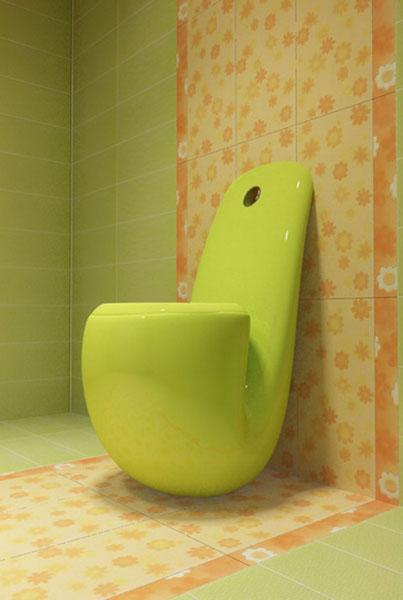 Кафель: дизайн туалета в оригинальном исполнении