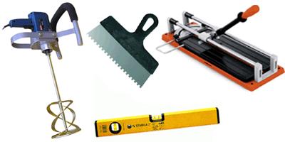 Обязательные инструменты для укладки плитки