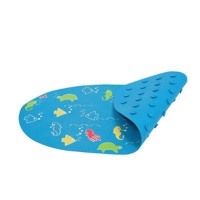 Коврик в ванную на присосках обеспечит дополнительную безопасность от скольжения
