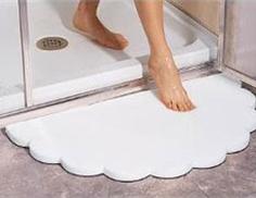 Коврик для ванной - практично и уютно