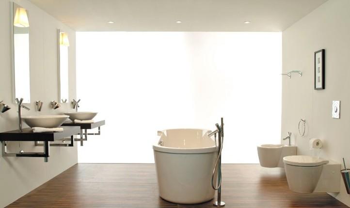 Проект с нестандартным расположением ванны