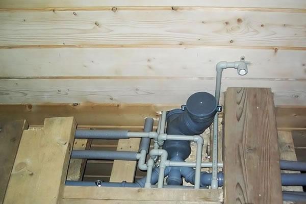 Обустройство канализации и водопровода в частном доме