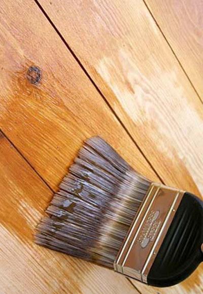 Защита деревянных поверхностей с помощью льняного масла