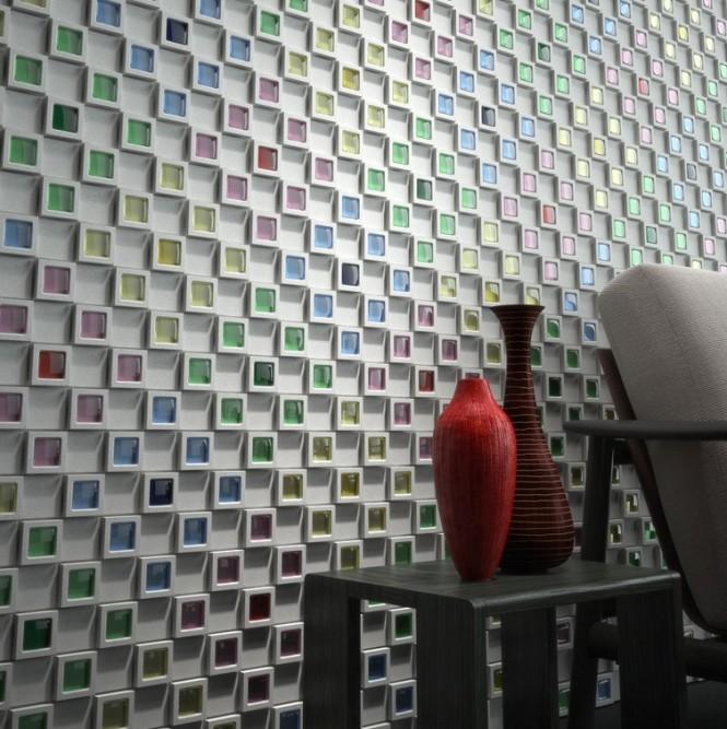 Кафельная плитка 3д: объемное восприятие