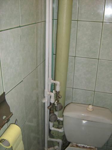 монтаж стояков водоснабжения