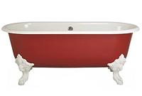 сколько весит ванна чугунная