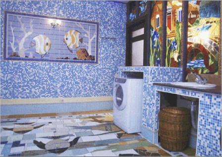 Ванная комната – плитка мозаика