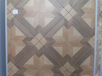В моде плитка со сложным геометрическим рисунком