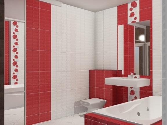 Выбор плитки для высокой и узкой ванной