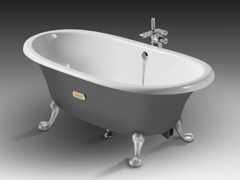 Пример чугунной ванны